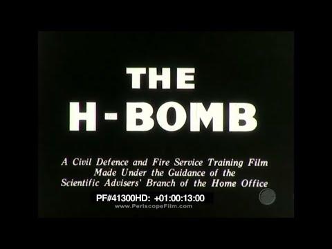 The H-Bomb - 1956 Atom Bomb, Hydrogen Bomb 41300 HD