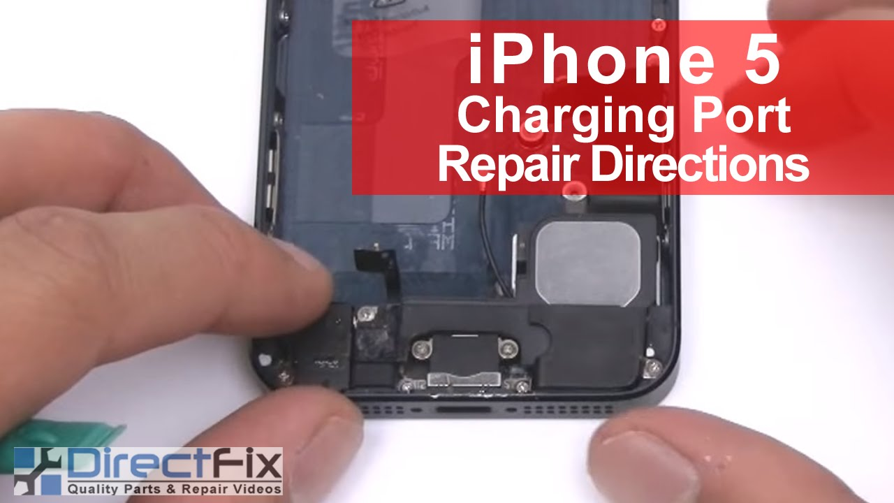 how to clean iphone charging port iphone 5 charging port dock replacement in 5 minutes 18656