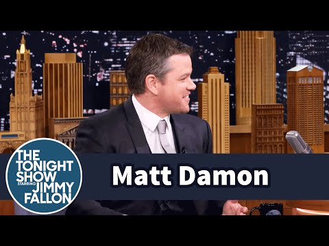 Matt Damon Took His Daughter to Meet Prince at Her First Concert