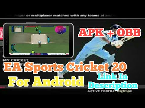 How To Download EA Sports Cricket 2020 On Android || APK + OBB ||