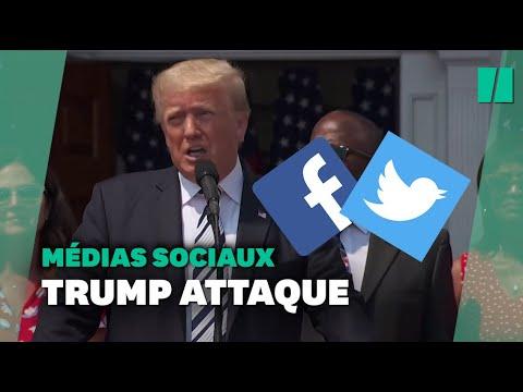 Download Trump poursuit Facebook, Twitter, Google et leurs patrons en justice