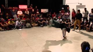 Bgirl Visnu vs Bgirl Ingrid (Dope Girls Crew) - CCJ champs