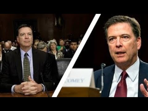 Former FBI Director Comey Releases Statement Prior to Hearing *Compilation 2017*