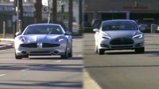 Fisker Karma vs. Tesla Model S