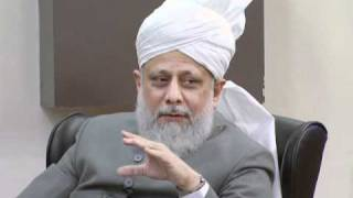 Gulshan-e-Waqfe Nau (Lajna) Class: 4th December 2010 - Part 4 (Urdu)