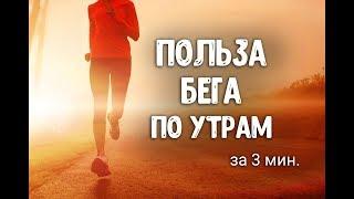 Польза бега по утрам. Бег для похудения