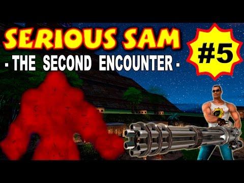 Serious Sam: The Second Encounter, Яма (ВСЕ СЕКРЕТЫ) часть 5 прохождение