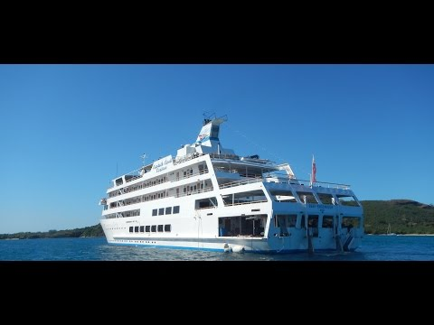 Captain Cook Cruises, Fiji in  HD - Travel in 10 Podcast