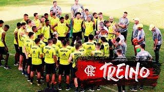 Flamengo faz último treino antes de enfrentar o Peñarol