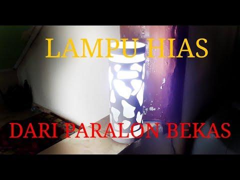 BELAJAR MEMBUAT LAMPU HIAS DARI PARALON BEKAS // Newbie Try To Make Decorative lights with old pipes