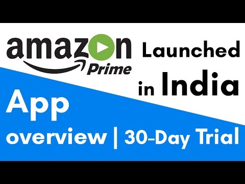 Amazon Prime Video India | How to get 30 Day Free Trial | App Overview