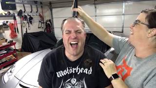 Live! Jason getting his head shaved for St. Baldrick's!