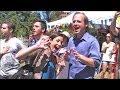 Singing US National Anthem, World Cup 2014 at St. James Park, San Jose, California