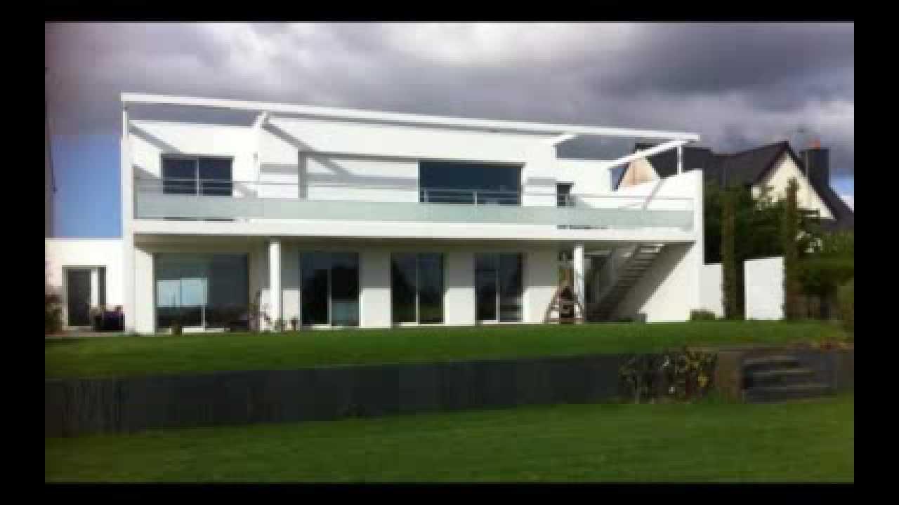 maison bbc riantec 56 christophe le moing architecte lorient youtube. Black Bedroom Furniture Sets. Home Design Ideas