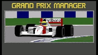 Grand Prix Manager 1993 [Amiga] - Tedious Retro Gamer