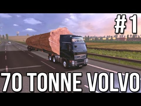 Seventy Tonne Volvo (Part #1) - Euro Truck Simulator 2