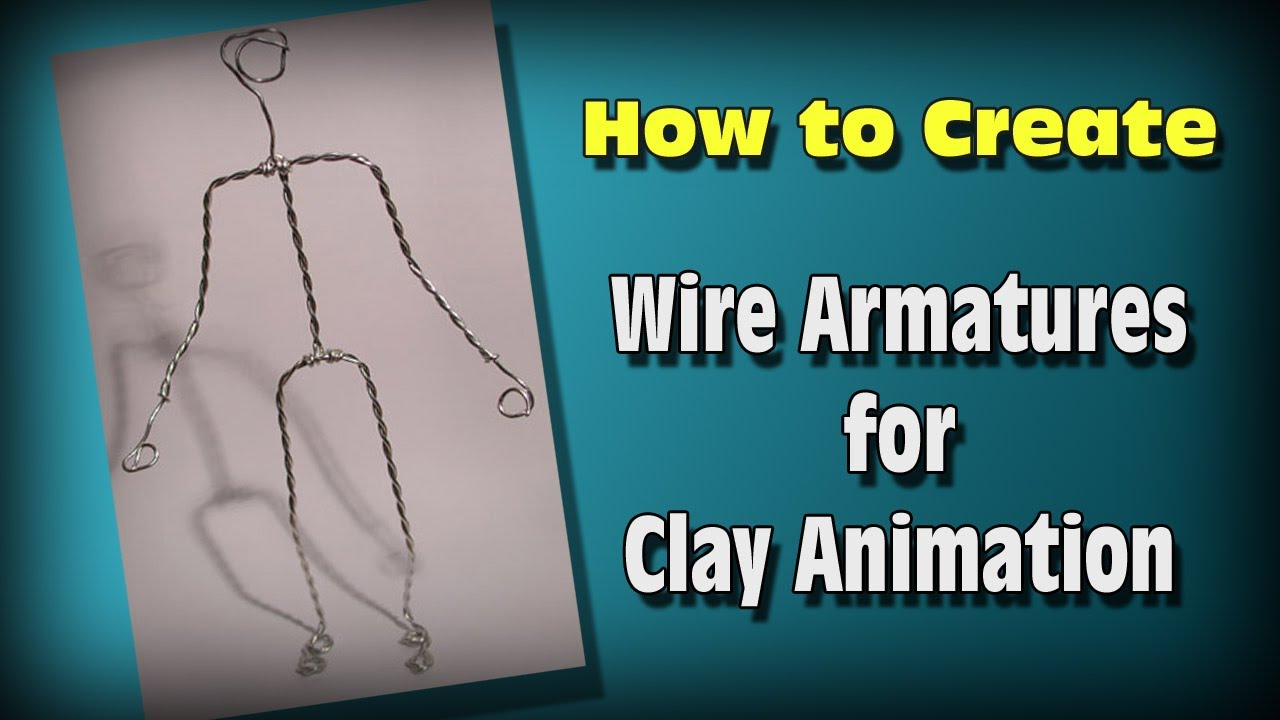 How to Make Wire Armatures for Stop Motion - YouTube