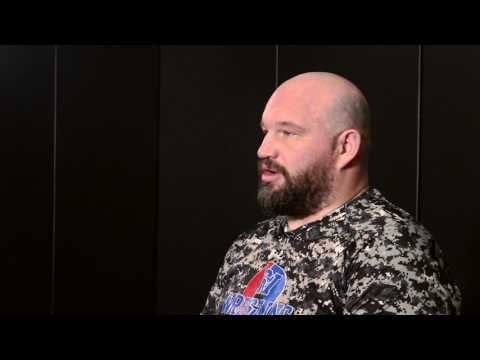 Brian Peterson's interview with Mike Finch before XFO 60