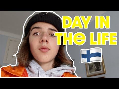 Day in the life of an American student in Helsinki, Finland!