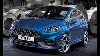 2018 Ford Fiesta ST Interior and Exterior