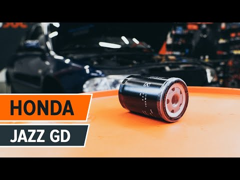 How to replace Engine Oil and Oil filter on HONDA JAZZ 1 TUTORIAL | AUTODOC
