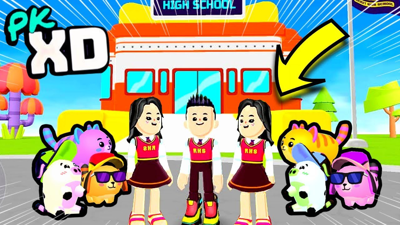ROTINA COM OS PETS!! - (PK XD game)