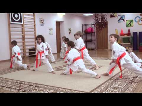 Дети в Каратэ Кекусинкай