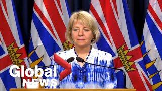 Coronavirus outbreak: B.C. reports 11 new COVID-19 cases, no new deaths   FULL