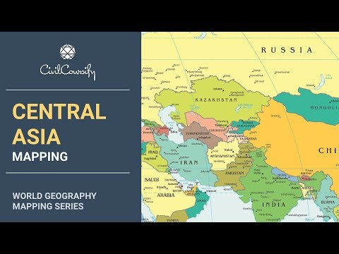CENTRAL ASIA || World Geography Mapping
