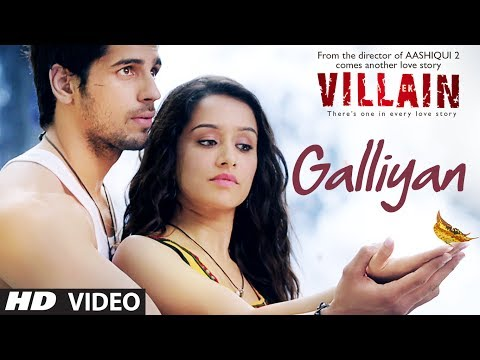 Ek Villain: Galliyan Video Song | Ankit Tiwari | Sidharth Malhotra | Shraddha Kapoor