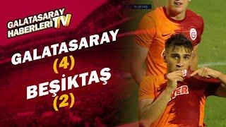 Galatasaray U19 4 - 2 Beşiktaş U19 (MAÇ ÖZETİ VE GOLLERİ)