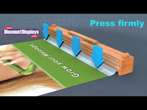 Bamboo Roller Banner Stand | Assembly Guide