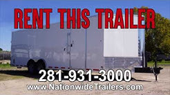 20ft and 24ft Cargo Trailers For Rent in Houston