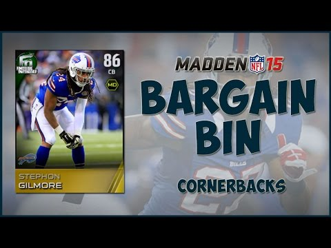 Madden 15 Ultimate Team | MUT Bargain Bin : The Best Budget CB's