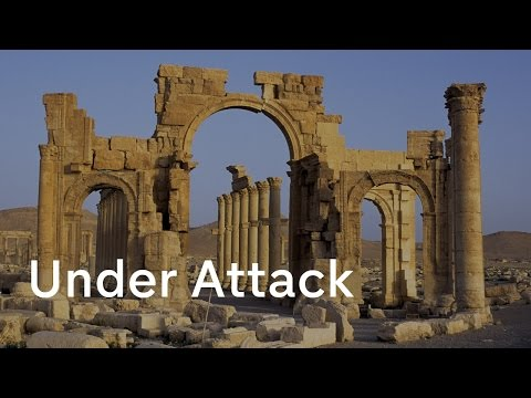 Palmyra arch: latest destruction by IS militants