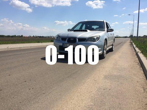 Subaru Impreza 2.5 WRX 0-100 Acceleration