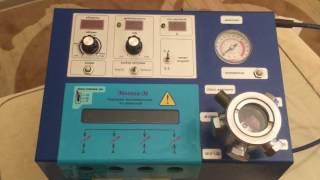 Стенд Молния-М для проверки свечей зажигания   (на 4 свечи), катушек и модулей  зажигания.