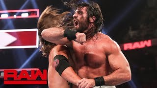 Seth Rollins vs. AJ Styles - Champion vs. Champion Match: Raw, Aug. 12, 2019