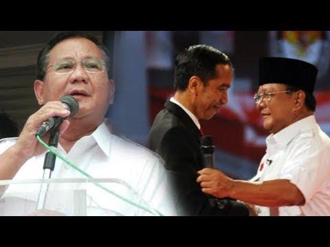 Prabowo Subianto Tanggapi Wacana Disandingkannya Dirinya dengan Presiden Jokowi di Pilpres 2019
