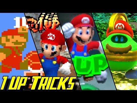 Evolution Of Infinite Lives Tricks In Mario Games (1985-2017)