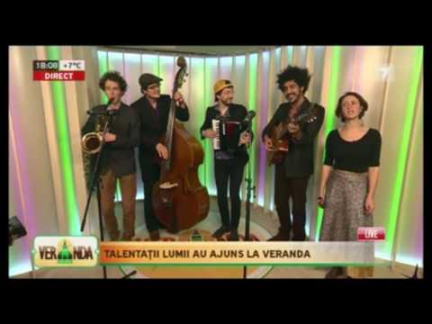 The Traveling Fish Live on TV Moldova