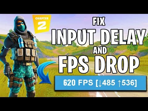 🔧How To Fix Input Delay And FPS DROP In Fortnite Chapter 2 ✅ (Easy Method) 2020 Updated!