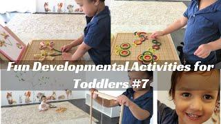 Fun Developmental Activities For Toddlers & Preschoolers: Geometric Shapes & Patterns