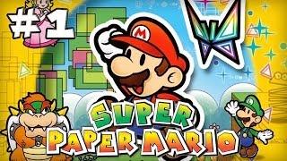 Super Paper Mario : Episode 1 | Let's Play [Live]