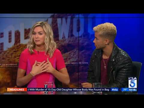 "Jordan Fisher & Lindsay Arnold Spill the Tea on ""Dancing with the Stars"""