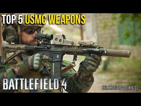 Battlefield 4 (PS4) - Top 5 US Marine Corps Weapons
