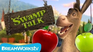 Donkey Tests the New Apple | SWAMP TALK WITH SHREK AND DONKEY