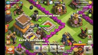 Clash Of Clans: Attack Those Goblins!!
