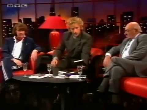 1994 - Helge Schneider, Marcel Reich Ranicki Und Uschi Obermaier Bei Thomas Gottschalk