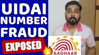 UIDAI ( AADHAAR ) HELPLINE NUMBER IN CONTACT LIST FRAUD EXPOSED IN 2018 ( HINDI )